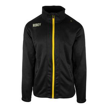 Afbeeldingen van Robey Performance Trainingsjack - Zwart/Geel