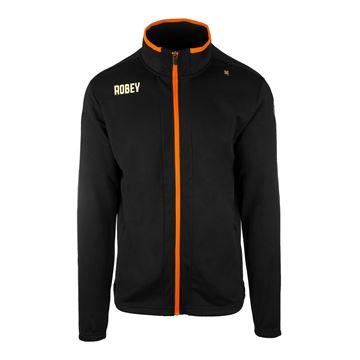Afbeeldingen van Robey Performance Trainingsjack - Zwart/Oranje