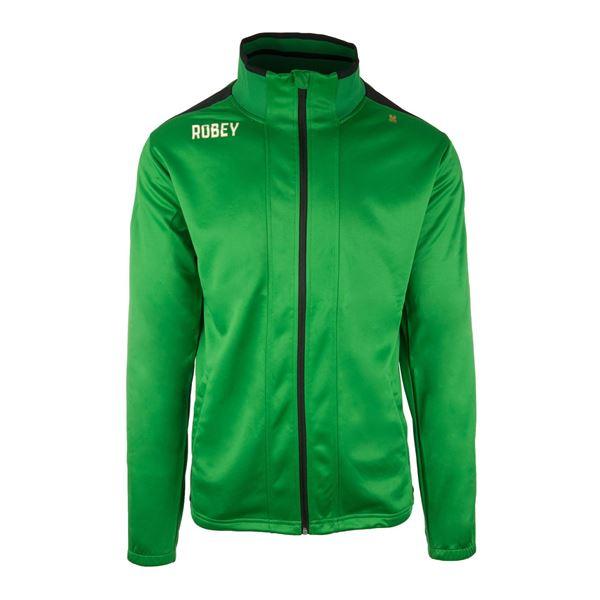 Afbeelding van Robey Performance Trainingsjack - Groen/Zwart