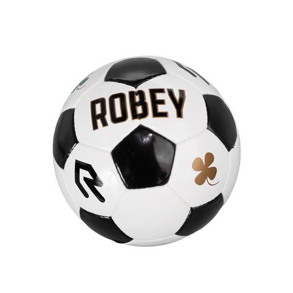Afbeelding van Robey Voetbal - Wit/Zwart