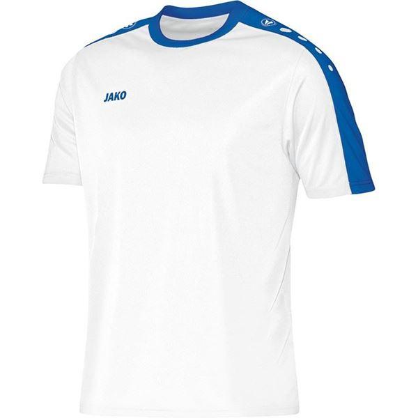 Afbeelding van JAKO Striker Shirt - Wit/Blauw