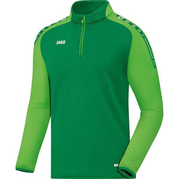 Afbeelding van JAKO Champ Zip Training Top - Groen