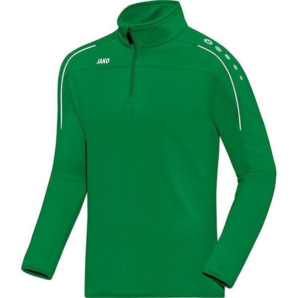 Afbeelding van JAKO Classico Zip Training Top - Groen