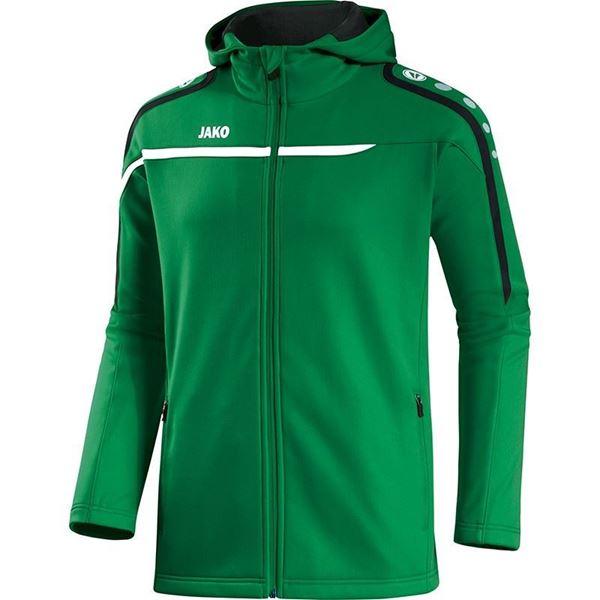 Afbeelding van JAKO Performance Hooded Trainingsjack - Groen