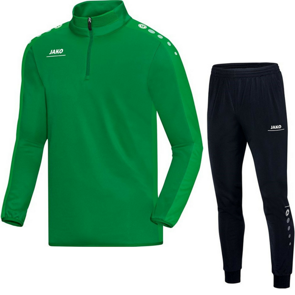 Afbeelding van JAKO Striker Trainingspak Zip Top - Groen