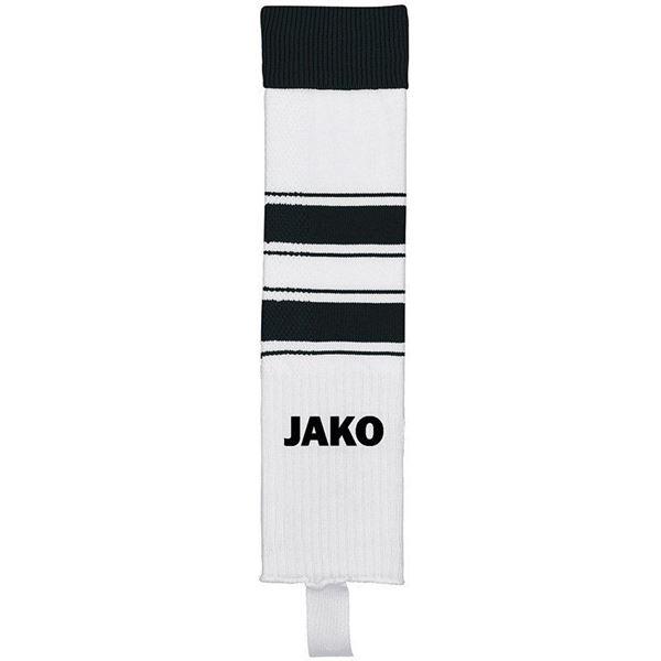 Afbeelding van JAKO Celtic Voetbalkousen Zonder Voet - Wit/Zwart