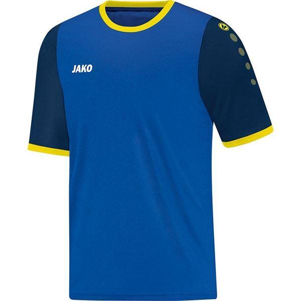 Afbeelding van JAKO LEEDS Shirt - Navy blauw/citroen - Kinderen