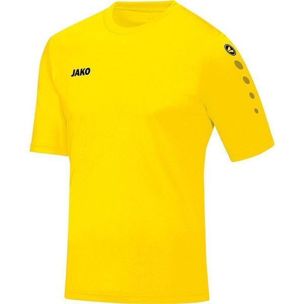 Afbeelding van JAKO Team Shirt - Citroen - Kinderen