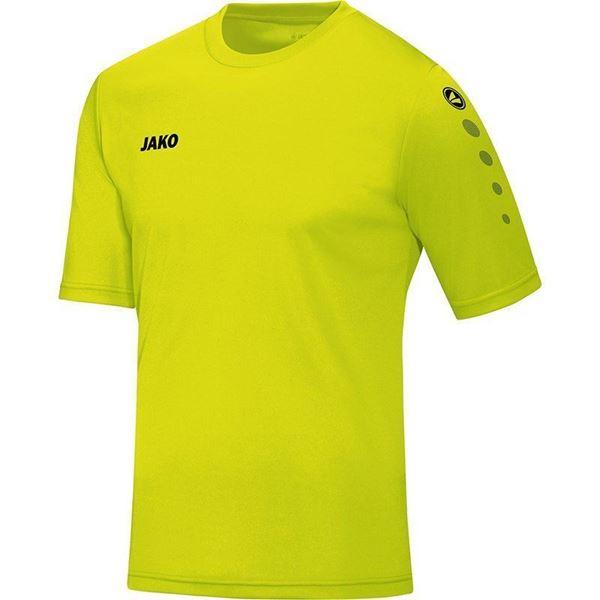 Afbeelding van JAKO Team Shirt - Lime - Kinderen