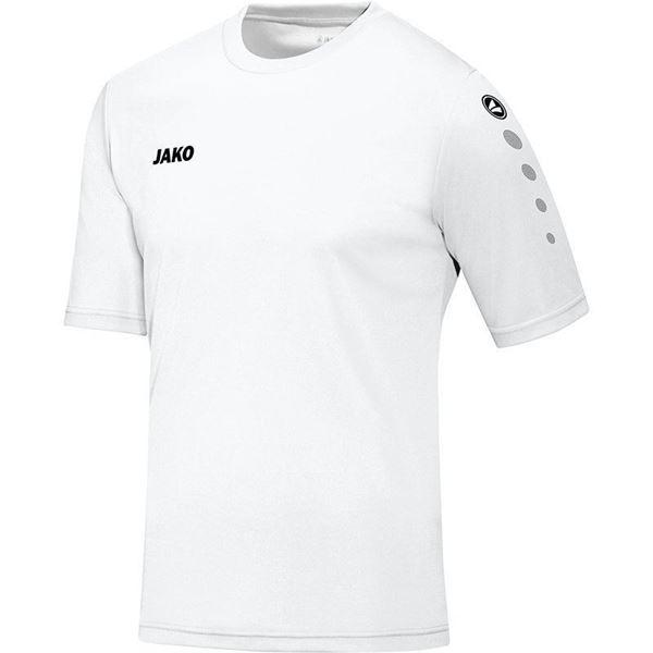 Afbeelding van JAKO Team Shirt - Wit - Kinderen