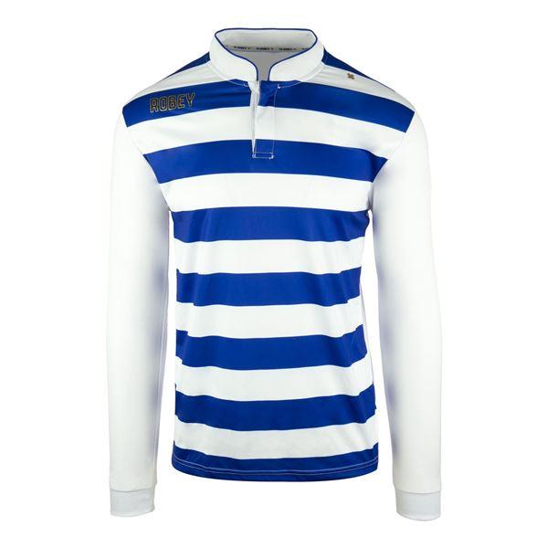 Afbeelding van Robey Legendary Voetbalshirt - Blauw/ Wit (Lange Mouwen) - Kinderen