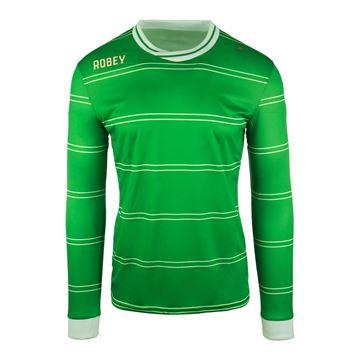 Afbeeldingen van Robey Sartorial Voetbalshirt - Groen (Lange Mouwen) - Kinderen