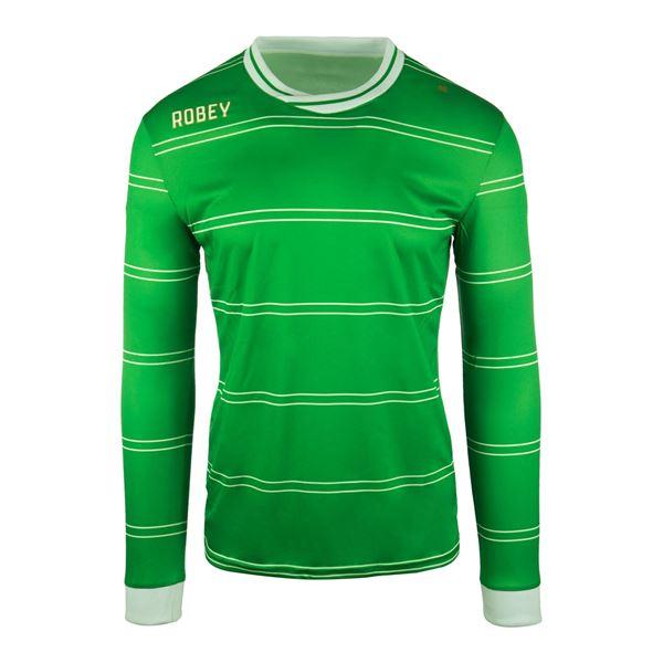 Afbeelding van Robey Sartorial Voetbalshirt - Groen (Lange Mouwen) - Kinderen