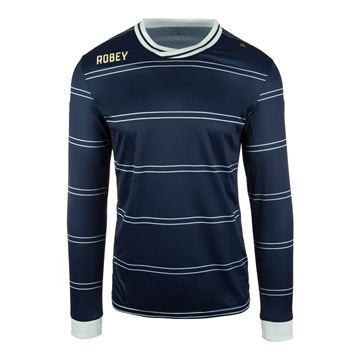 Afbeeldingen van Robey Sartorial Voetbalshirt - Navy Blauw (Lange Mouwen) - Kinderen
