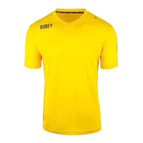 Afbeelding van Robey Score Voetbalshirt - Geel - Kinderen