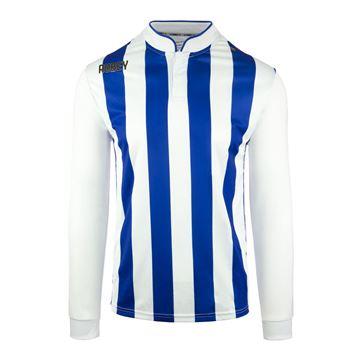 Afbeeldingen van Robey Winner Voetbalshirt - Blauw/ Wit (Lange Mouwen) - Kinderen