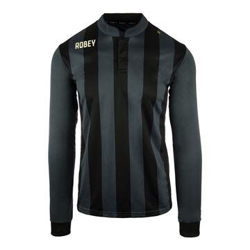 Afbeeldingen van Robey Winner Voetbalshirt - Zwart (Lange Mouwen) - Kinderen