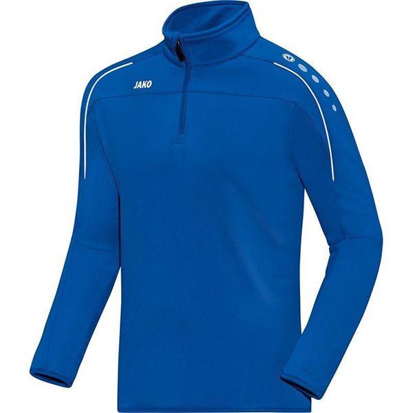 Afbeelding van JAKO Classico Zip Training Top -  Blauw - Kinderen