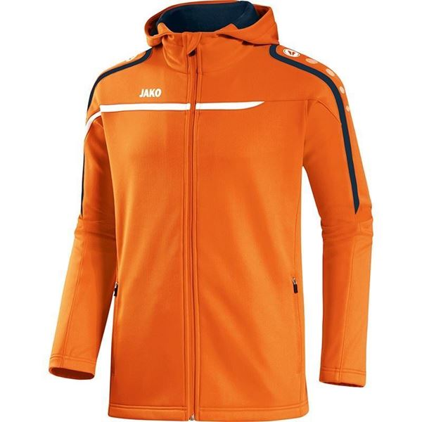 Afbeelding van JAKO Performance Hooded Trainingsjack - Oranje - Kinderen