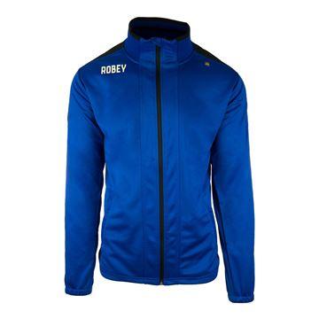 Afbeeldingen van Robey Performance Trainingsjack - Blauw - Kinderen