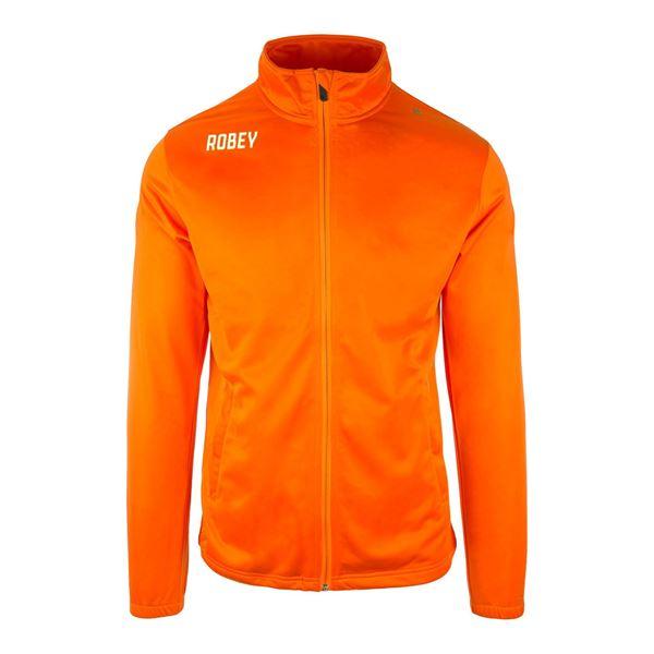 Afbeelding van Robey Premier Trainingsjack - Oranje - Kinderen