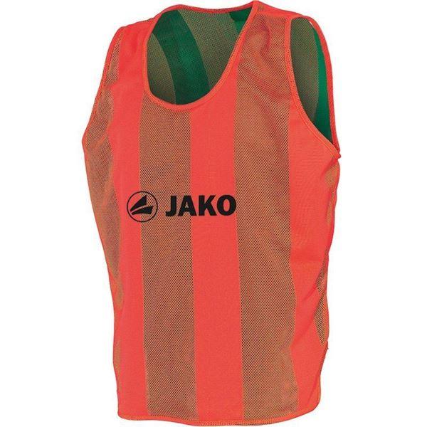 Afbeelding van JAKO Omkeerbare Hesje - Oranje - Groen