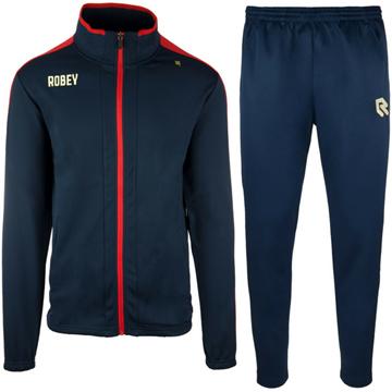 Afbeeldingen van Robey Performance Trainingspak - Navy Blauw - Rood