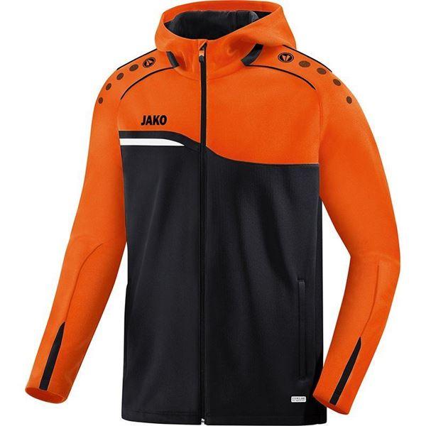 Afbeelding van JAKO Competition Jas - Zwart - Oranje