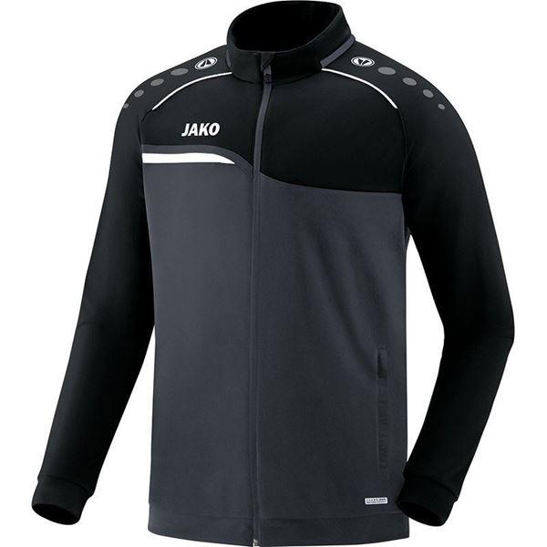 Afbeelding van JAKO Competition Polyestervest - Antraciet - Zwart