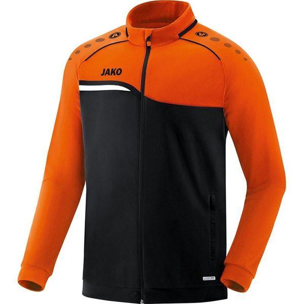 Afbeelding van JAKO Competition Polyestervest - Zwart - Oranje Kinderen