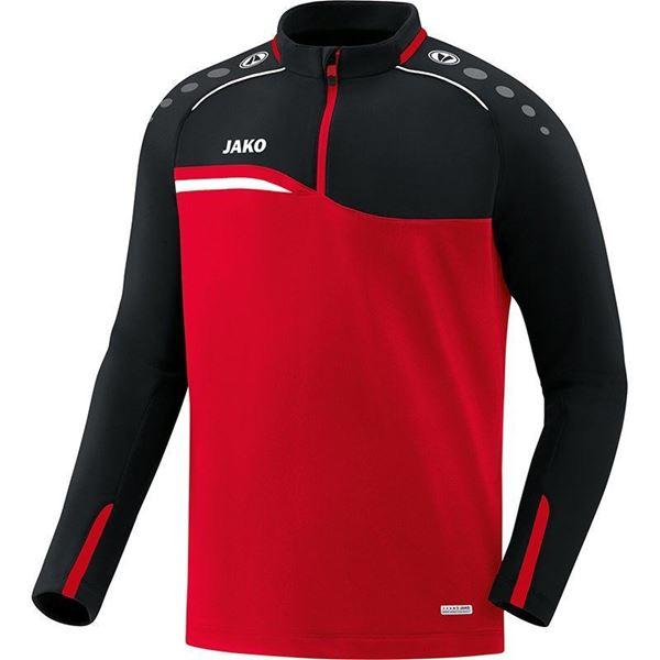 Afbeelding van JAKO Competition Ziptop - Rood - Zwart