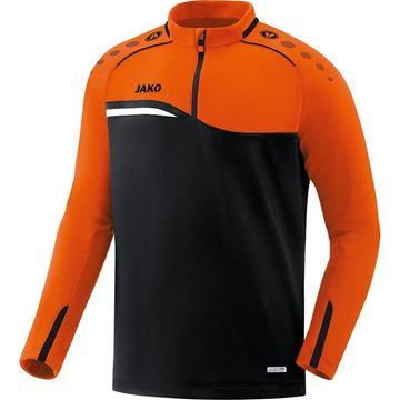 Afbeeldingen van JAKO Competition Ziptop - Zwart - Oranje
