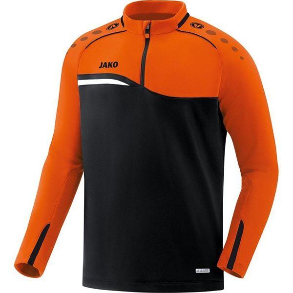 Afbeelding van JAKO Competition Ziptop - Zwart - Oranje