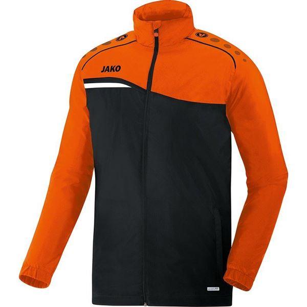 Afbeelding van JAKO Competition Regenjas - Zwart - Oranje