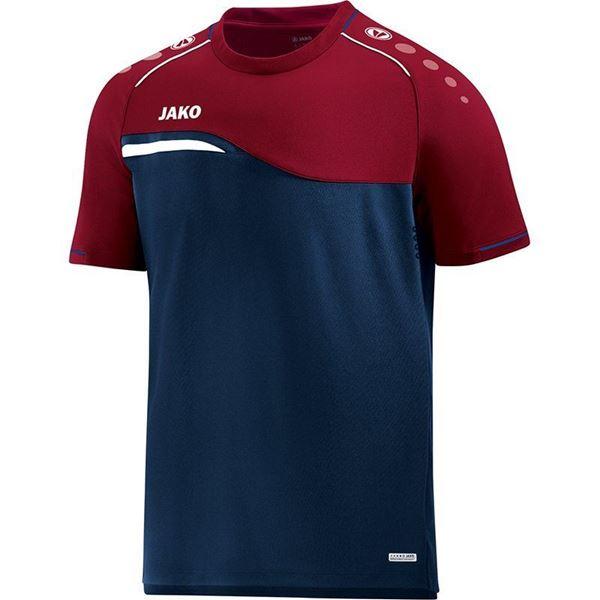 Afbeelding van Jako Competition Shirt - Navy - Blauw -Rood