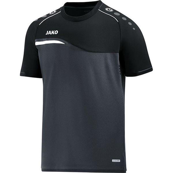 Afbeelding van Jako Competition Shirt - Antraciet - Zwart - Kinderen