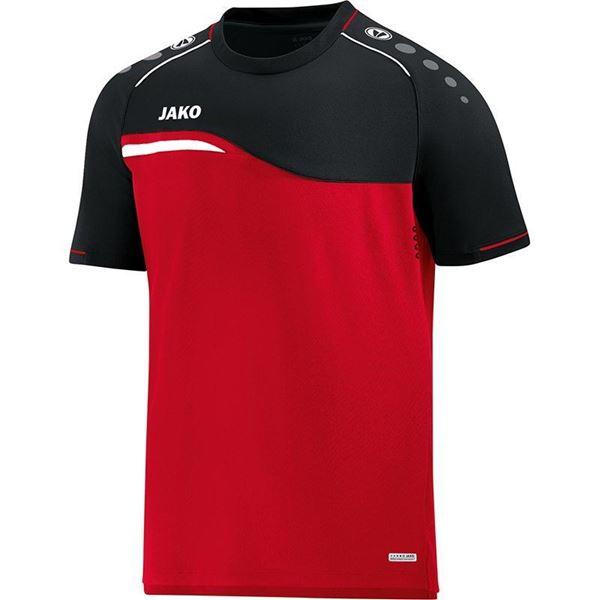 Afbeelding van Jako Competition Shirt - Rood - Zwart - Kinderen