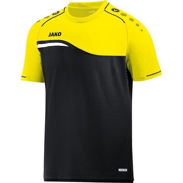 Afbeelding van Jako Competition Shirt - Zwart - Geel - Kinderen