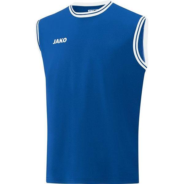 Afbeelding van JAKO Center 2.0 Basketbal Shirt - Blauw/Wit