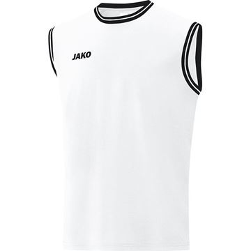 Afbeeldingen van JAKO Center 2.0 Basketbal Shirt - Wit/Zwart