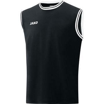 Afbeeldingen van JAKO Center 2.0 Basketbal Shirt - Zwart/Wit
