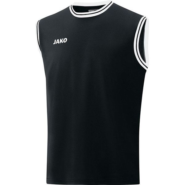 Afbeelding van JAKO Center 2.0 Basketbal Shirt - Zwart/Wit