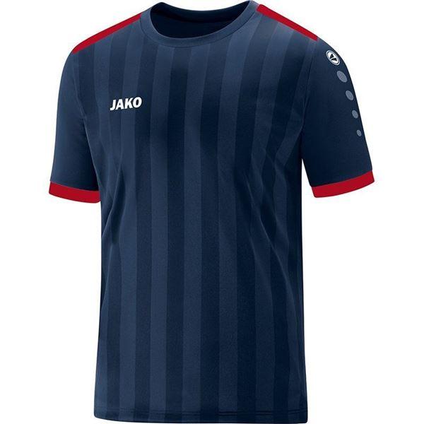 Afbeelding van JAKO Porto 2.0 Shirt - Navy Blauw/Rood - Kinderen