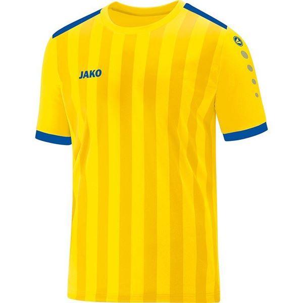 Afbeelding van JAKO Porto 2.0 Shirt - Geel/Blauw - Kinderen