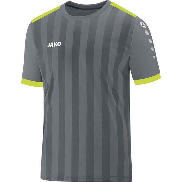 Afbeelding van JAKO Porto 2.0 Shirt - Grijs/Geel- Kinderen