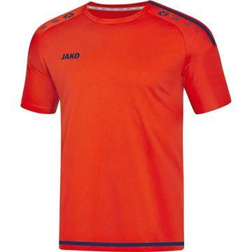 Afbeeldingen van JAKO Striker 2.0 Shirt - Rood/blauw