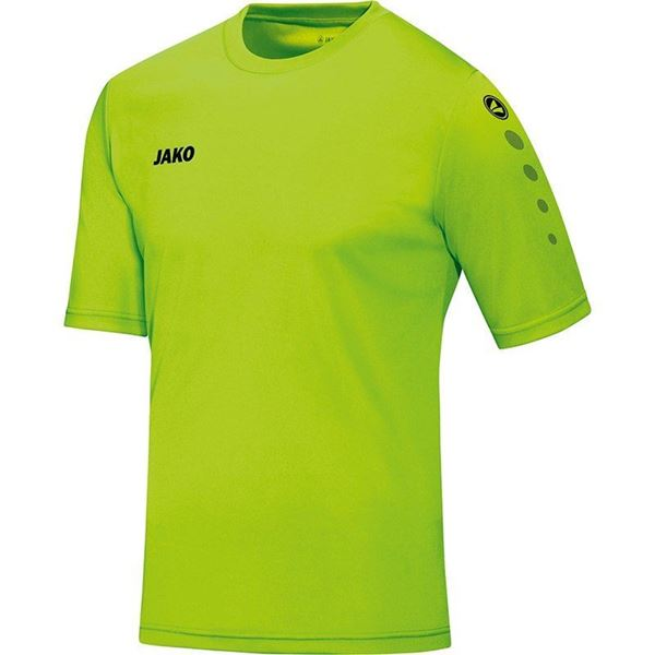 Afbeelding van JAKO Team Shirt - Fluo Groen - Kinderen