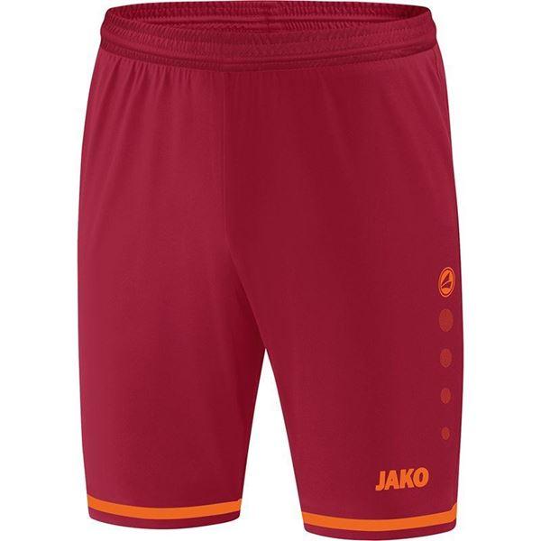 Afbeelding van JAKO Striker 2.0 Short - Rood/Oranje