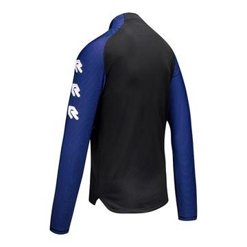 Robey Training Sweater - Zwart/Blauw - Kinderen