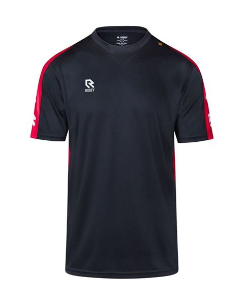 Afbeelding van Robey Performance Trainingsshirt - Zwart/ Rood